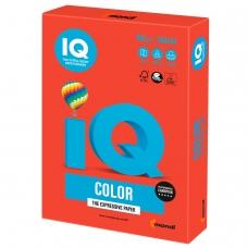 Бумага IQ color, А4, 160 г/м2, 250 л., интенсив кораллово-красная, CO44