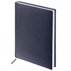 Ежедневник BRAUBERG недатированный, А5, 138х213 мм, 'Favorite', под классическую кожу, 160 л., черный, 123397