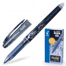 Ручка стираемая гелевая PILOT 'Frixion Point', ЧЕРНАЯ, игольчатый узел 0,5 мм, линия письма 0,25 мм