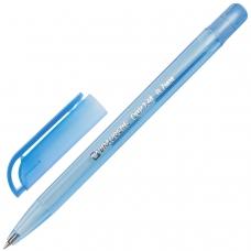 Ручка шариковая масляная BRAUBERG 'Olive Pen Tone', СИНЯЯ, корпус тонированный, узел 0,7 мм, линия письма 0,35 мм, OBP134