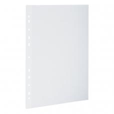 Папки-уголки с перфорацией прозрачные, до 40 листов, плотные 0,18 мм, комплект 10 шт., 226827