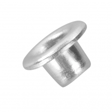 Люверсы BRAUBERG, КОМПЛЕКТ 250 шт., внутренний диаметр 4,8 мм, длина 4,6 мм, серебристые