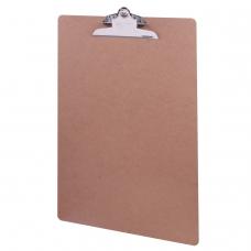 Доска-планшет BRAUBERG 'Eco', с верхним прижимом бабочка, А3, 32х46 см, МДФ, 3 мм, 232226