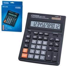 Калькулятор CITIZEN настольный SDC-444S, 12 разрядов, двойное питание, 199x153 мм