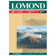 Фотобумага LOMOND для струйной печати, A3, 230 г/м2, 50 л., односторонняя глянцевая, 0102025