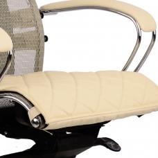 Накладка на сиденье для кресла 'SAMURAI', кожа, бежевая